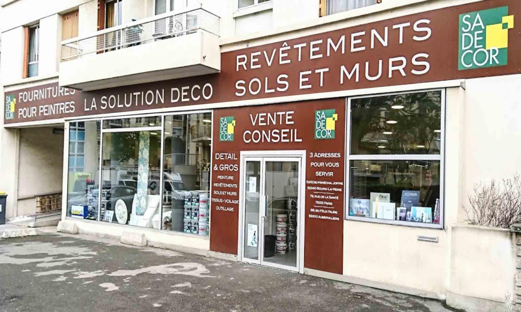 Sadécor Bourg-la-Reine MagasiN au 53-57, Boulevard du Maréchal Joffre 94340 Bourg-la-reine