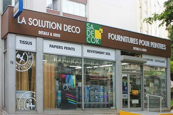 peinture sadécor Paris magasin 79, rue de la Santé 75013 Paris - Showroom 52 rue de la Santé 75014 Paris
